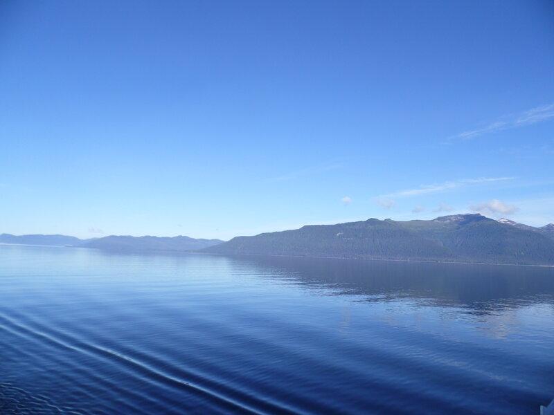 Entering Glacier Bay