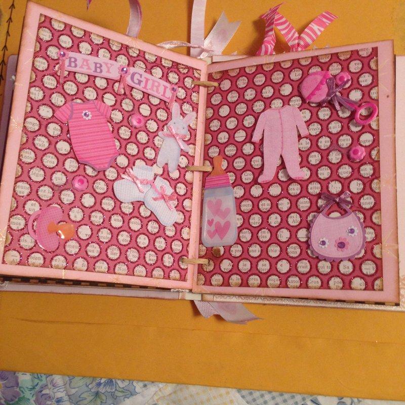 sweet baby girl 5 x 6 album