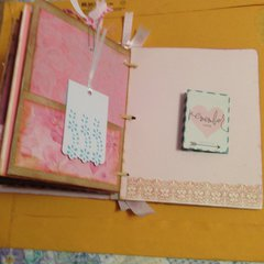 sweet baby girl 5 x 6 album