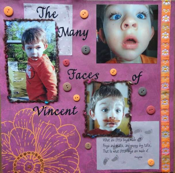 The many faces of Vincent