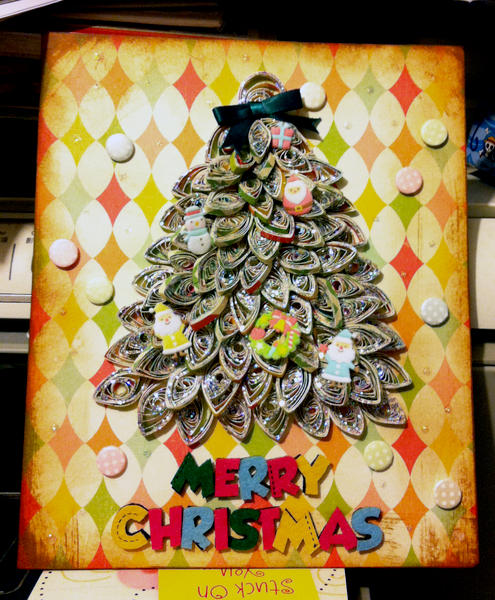 paper quilling christmas cardz~(2)