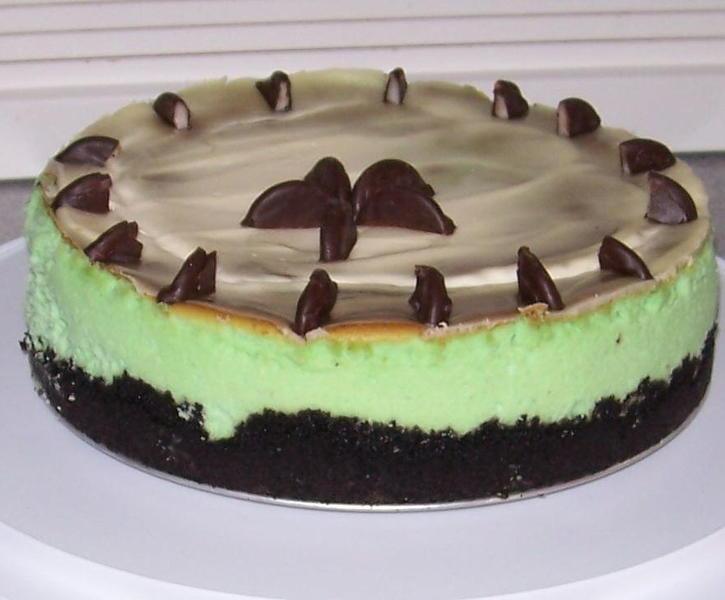 Oreo Mint Cheese Cake