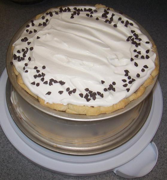 Chocolate Pie (ready to travel)