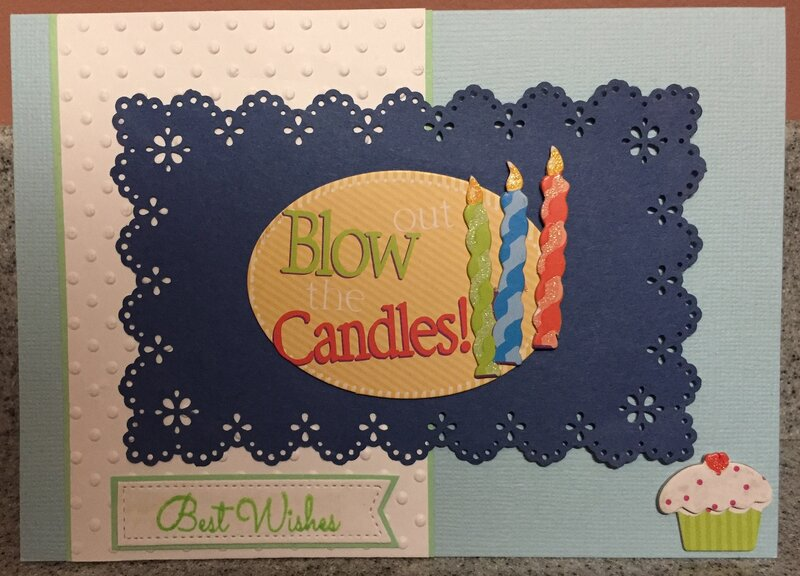 B-day Candles