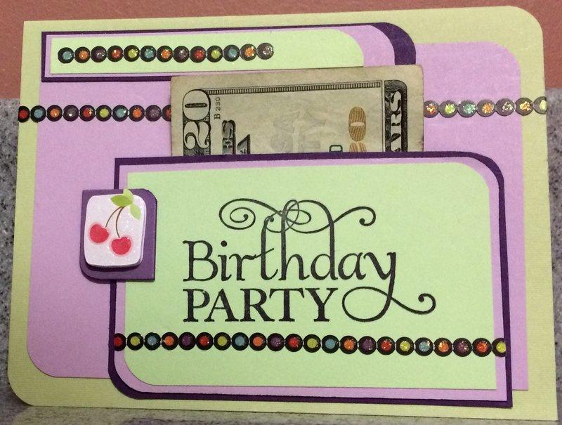 """Birthday Party """"Pocket"""""""