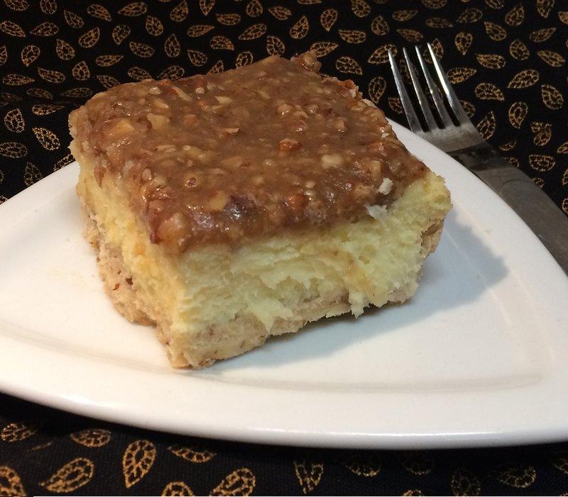 Cheesecake Praline Bars