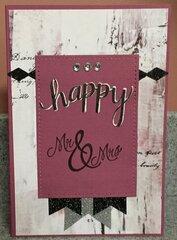Happy Mr & Mrs