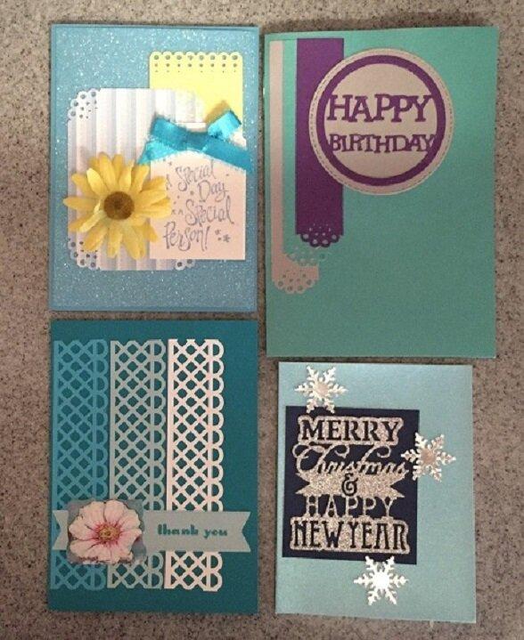 Yvette's Card Progression