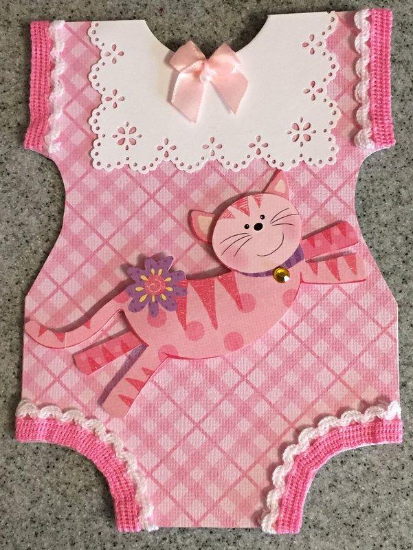 Pink Kitty Onesie