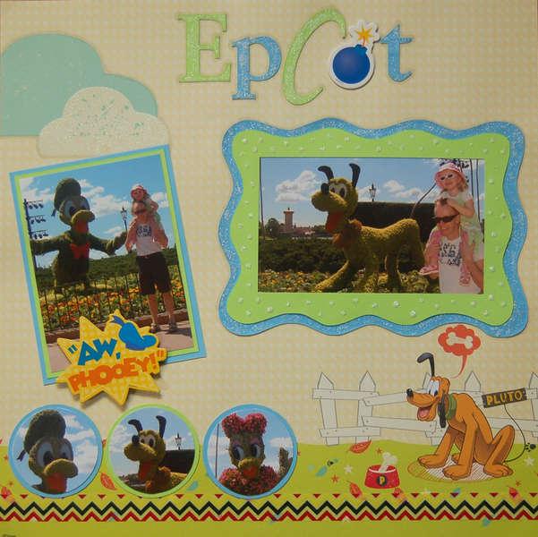 Epcot - Pluto & Friends