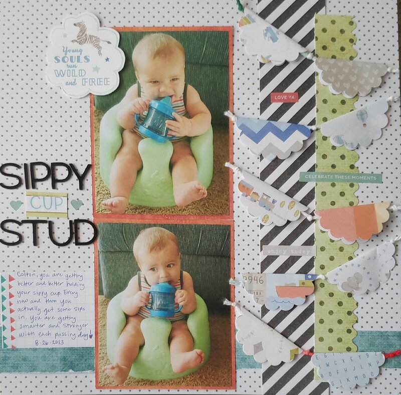 Sippy Cup Stud
