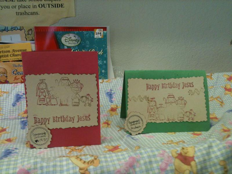 Happy Birthday Jesus cards