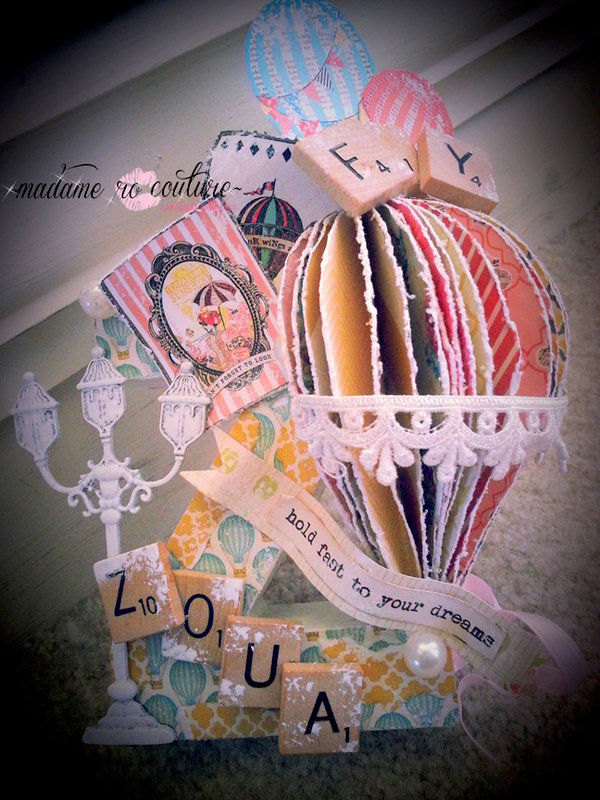 MME: Altered Letter w/ Hot Air Balloon