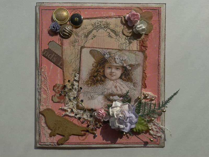 card for little Miss