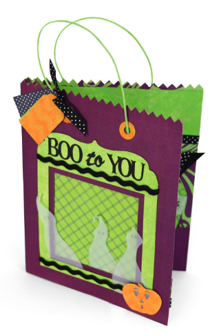 Boo to You � Treat Bag Mini Book