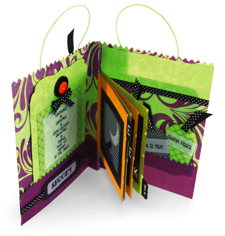 Boo to You • Treat Bag Mini Book