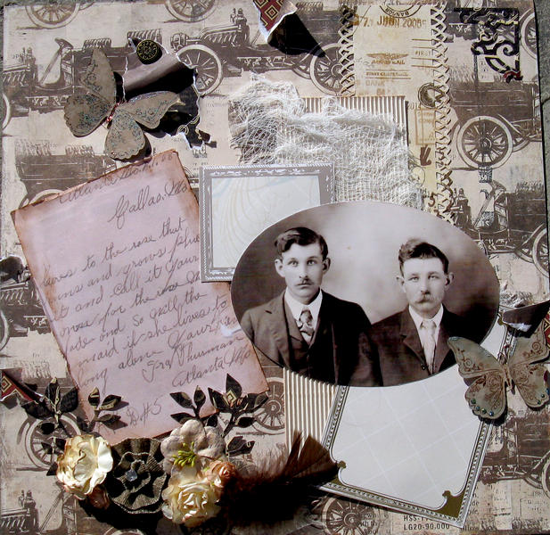 Ira Therman and his Brother Blytha's Granfather