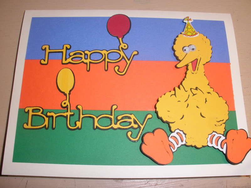 Big Bird Happy Birthday
