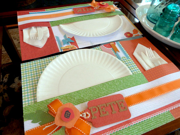 Summer Place Mat/ Place Settings