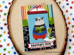 Teachers Rock Card
