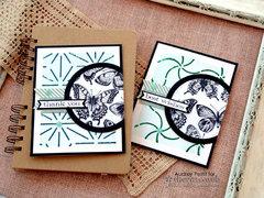 Deco Foil Flutter Card Set