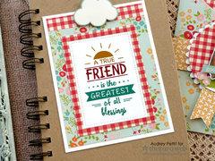Good Friends pocket card