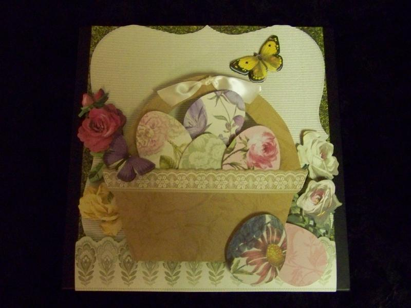 All from Anna Griffin's paper, border and embellishments!