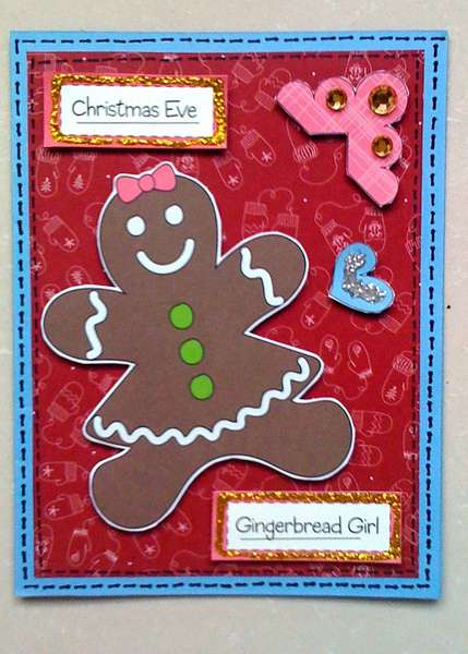 Gingerbread Girl Card
