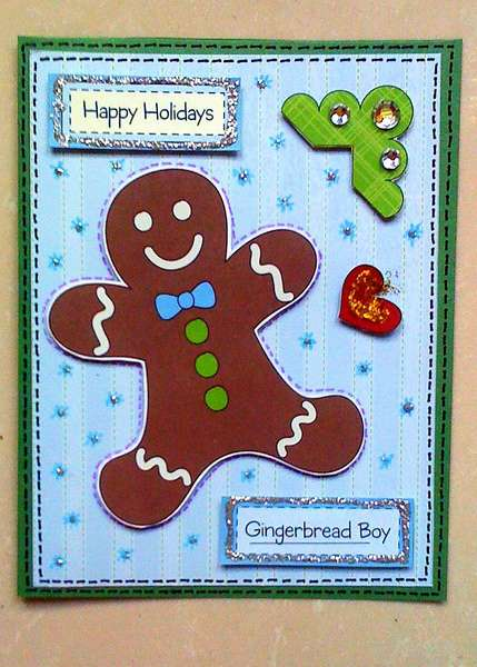 Gingerbread Boy Card