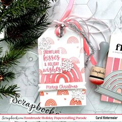 Girly Christmas Gift Tag