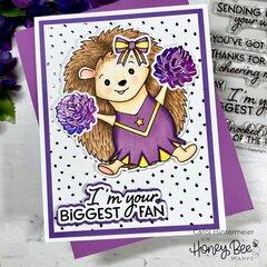 Honey Bee Stamps Hope the Hedgehog