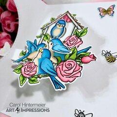 Floral Pop Card