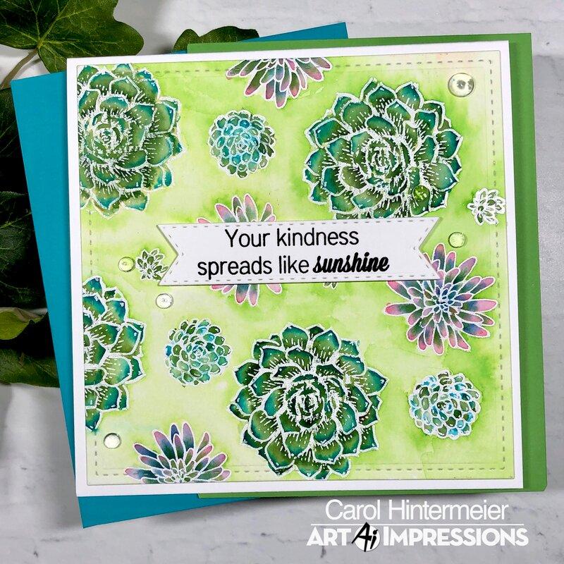 Art Impressions Succulents