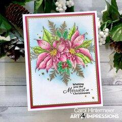 Scrapbook.com Exclusive Poinsettia