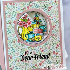 Tea TryFold card