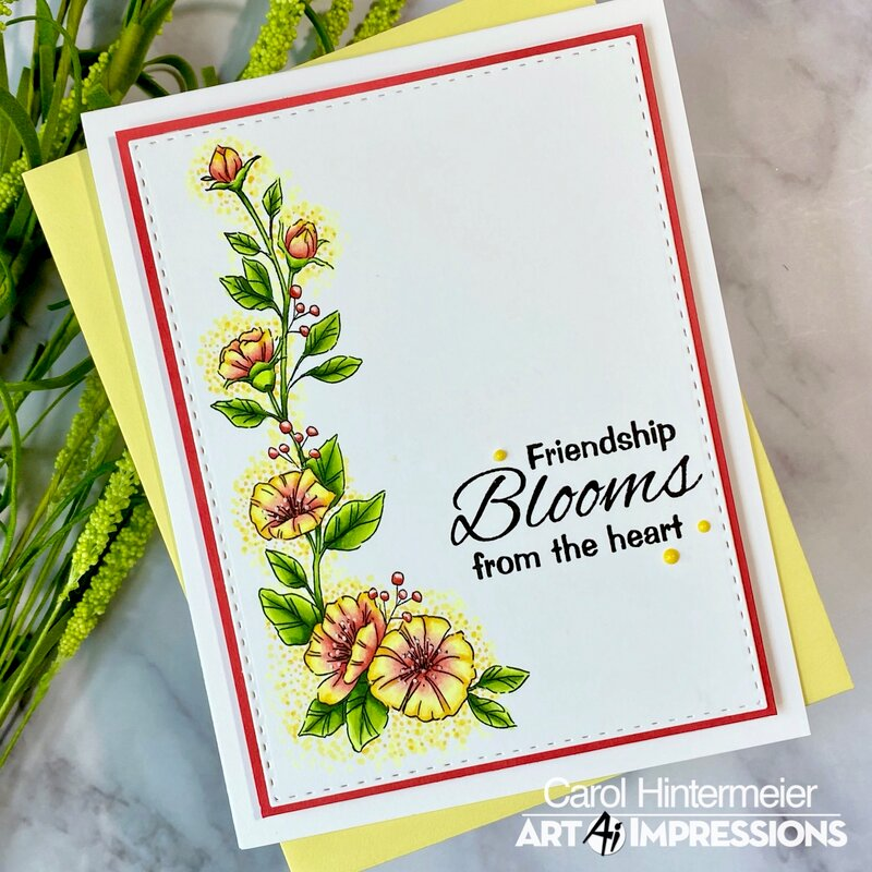 Floral Friendship card