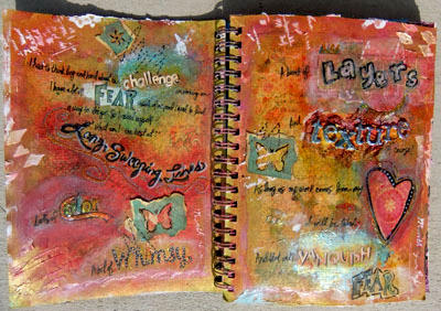 Art Journal (Pages 2 and 3)- Swirlydoos UDC Week #5