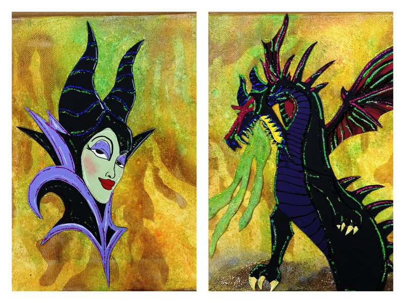 Maleficent and the Dragon
