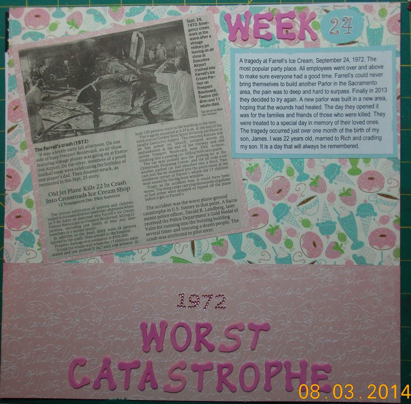 Worst Catastrophe - Week 24