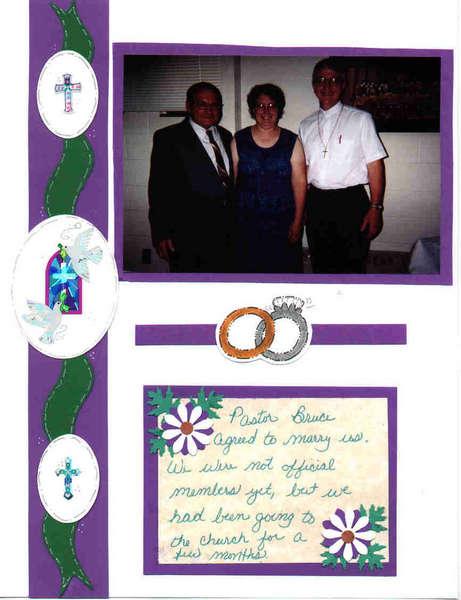 Pastor Bruce & us