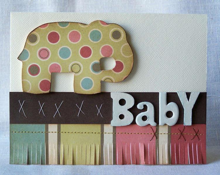 Baby Card - **We R Memory Keepers**
