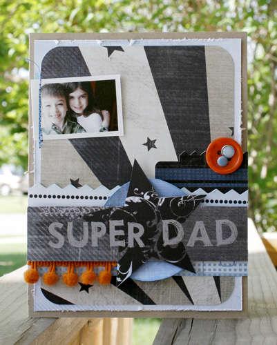 """Super Dad"" Fancy Pants New Release"