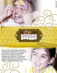 she laughs (Bigi Digi Contest)