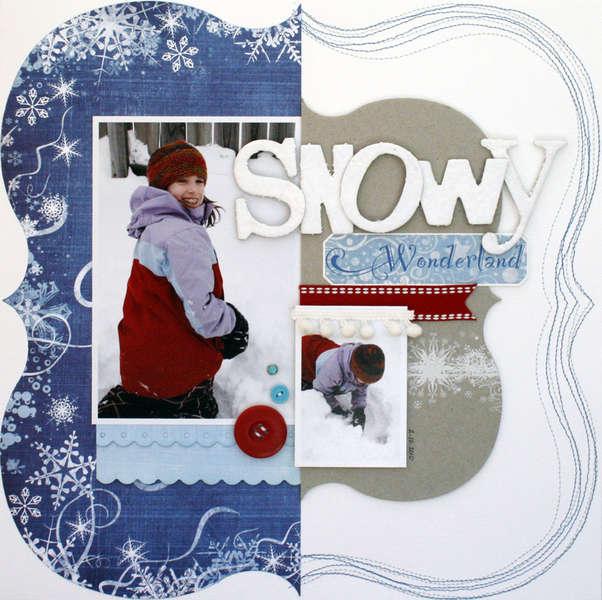 """""""Snowy Wonderland"""" Fancy Pants"""