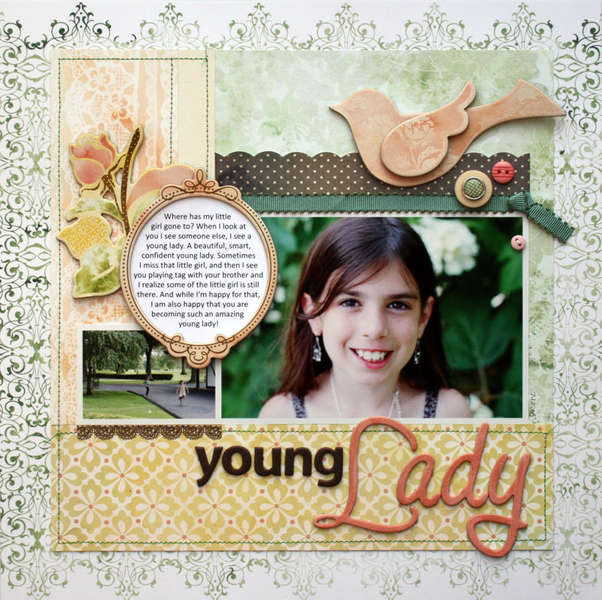 """""""Young Lady"""" NEW BasicGrey"""