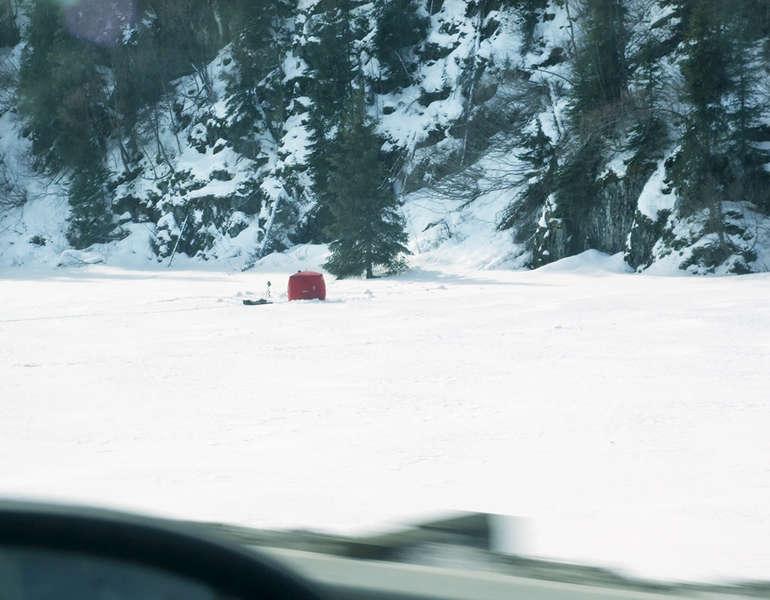 45 - Ice Fishing on Long Lake