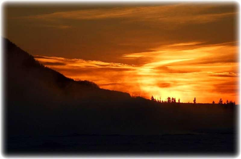 JFF ~ Knik River Sunset