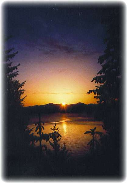 Alaskan Sunsets ~ Auke Bay Sunset