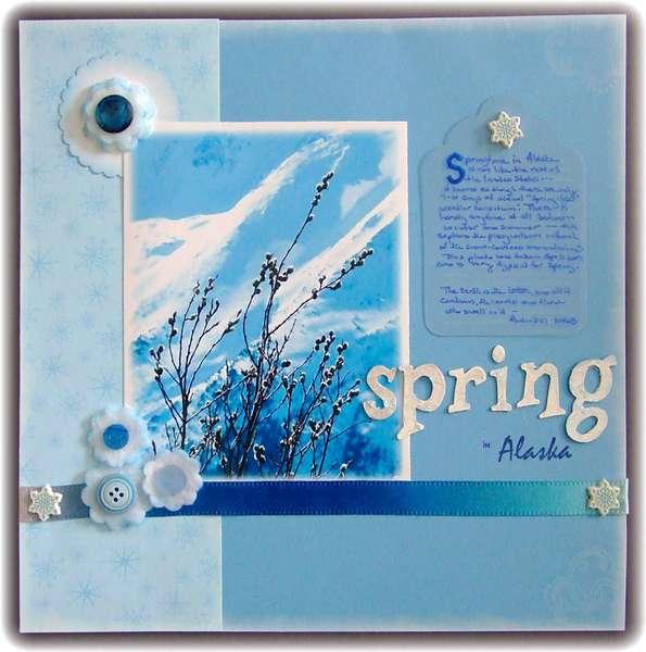 Mar 1 ~ Spring in Alaska