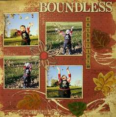 Boundless Enthusiasm